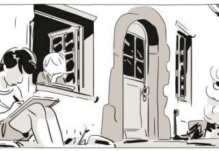 Illustration issue d'Une Soeur (2017)